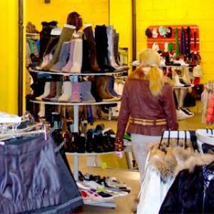 Магазины одежды и обуви Лангепаса